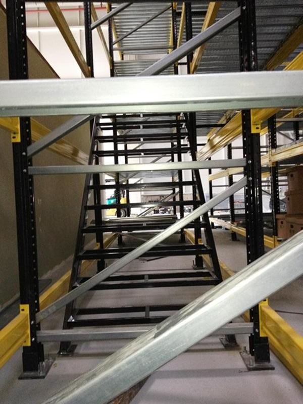 Katlı (Mezzanine) Depo Raf Sistemleri